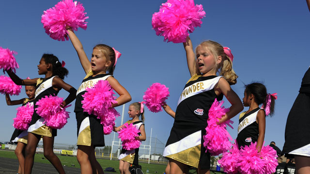 Pop Warner National Cheer Competition