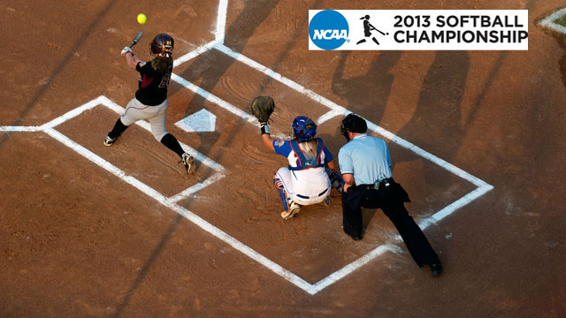 NCAA Softball Championship Update