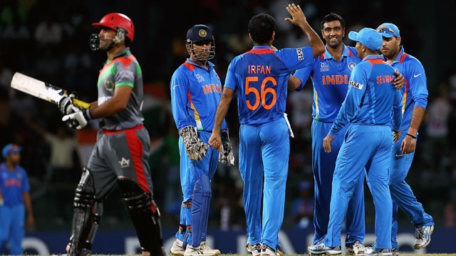 Cricket - India vs. Afghanistan: 2012 ICC World T20
