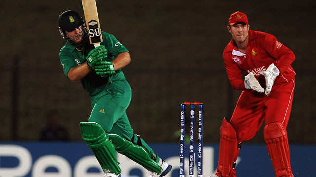 Cricket - South Africa vs. Zimbabwe: 2012 ICC World T20
