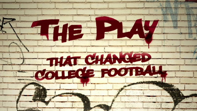 SEC Storied: The Play That Changed College Football