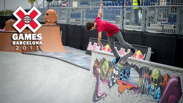 X Games Barcelona: Skateboard Park Eliminations