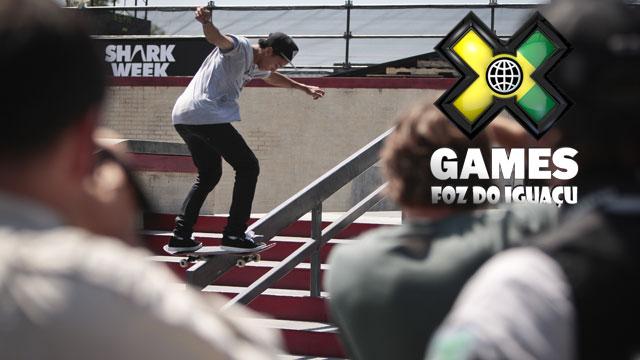 X Games Foz Do Iguacu: Street League Skateboarding Eliminations