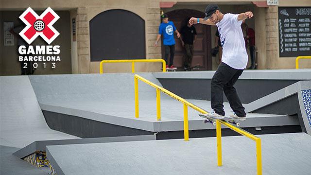 X Games Barcelona: Street League Skateboarding Elimination