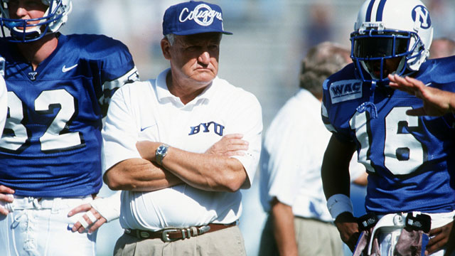 Lavell Edwards And The BYU Quarterback Factory