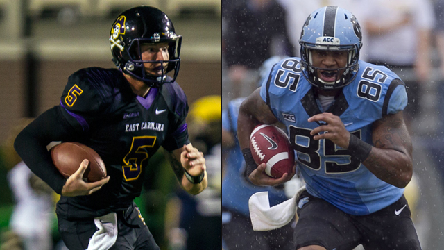 East Carolina vs. North Carolina