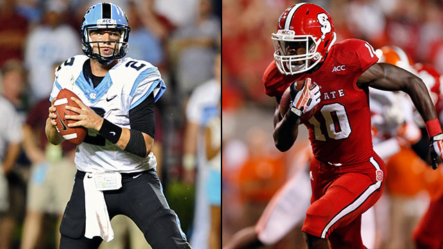 North Carolina vs. North Carolina State