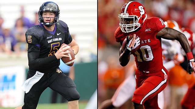 East Carolina vs. NC State