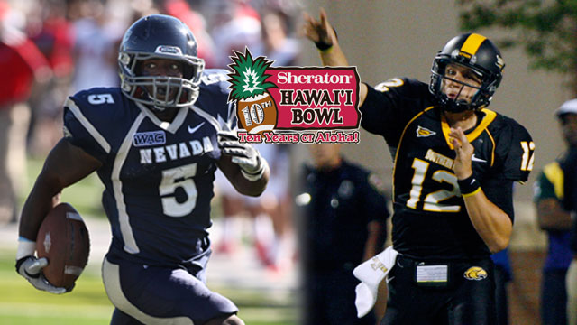 Nevada vs. #21 Southern Mississippi - Sheraton Hawaii Bowl