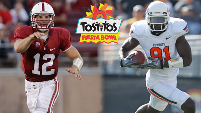 #4 Stanford vs. #3 Oklahoma State - Tostitos Fiesta Bowl