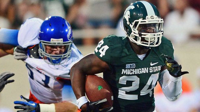 #11 Michigan State vs. Central Michigan