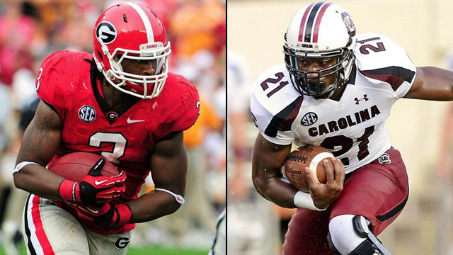 #5 Georgia vs. #6 South Carolina
