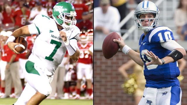 North Texas vs. Middle Tennessee (Exclusive)