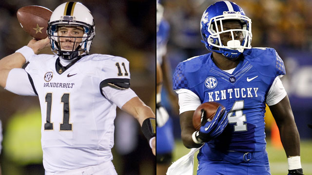 Vanderbilt vs. Kentucky