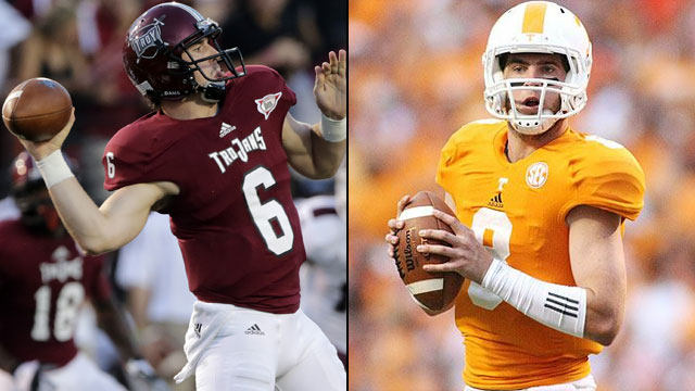 Troy vs. Tennessee