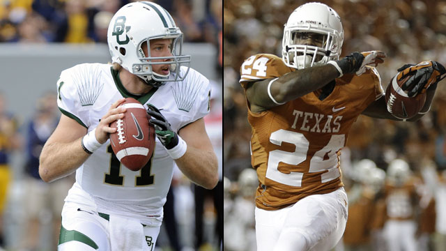 Baylor vs. #25 Texas