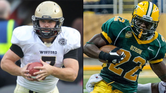 Wofford vs. #1 North Dakota State (Quarterfinals): NCAA FCS Football Championship
