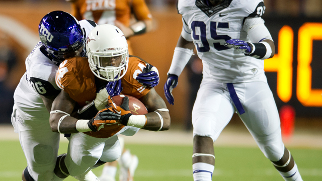 TCU vs. Texas - 11/22/2012 (re-air)