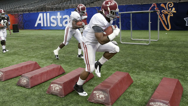 Alabama Football Pro Day (Featuring Trent Richardson, Mark Barron & Courtney Upshaw)