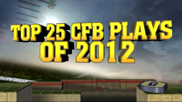 Top 25 CFB Plays of 2012