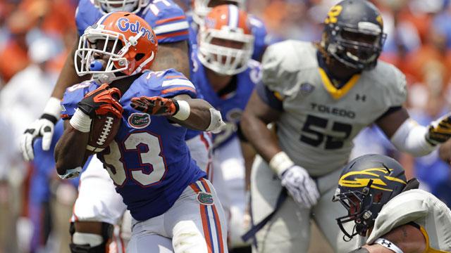 Toledo vs. #10 Florida