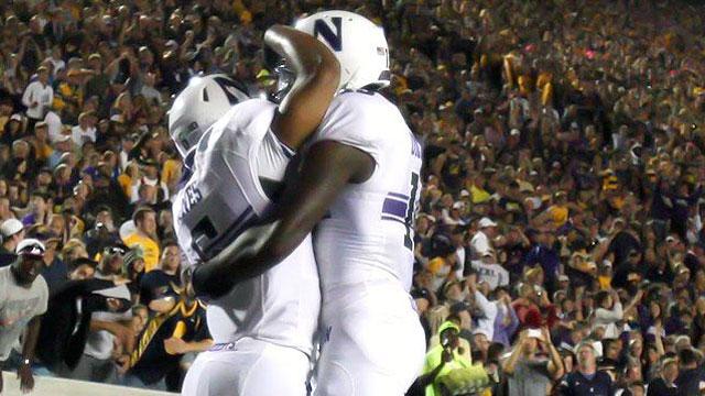 #22 Northwestern vs. California