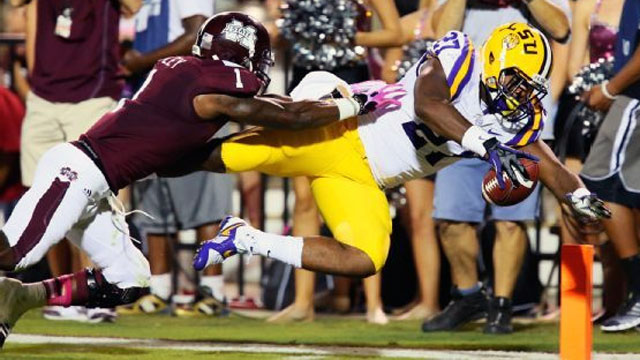 #10 LSU vs. Mississippi State