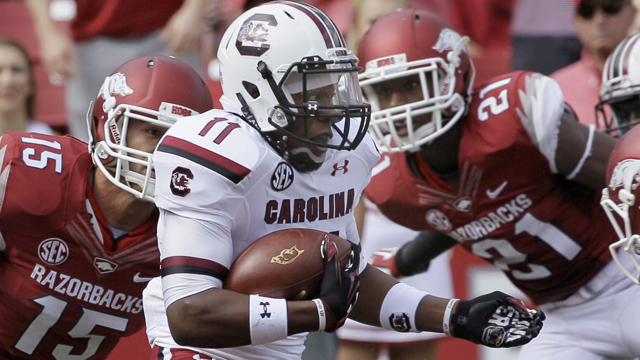 #14 South Carolina vs. Arkansas