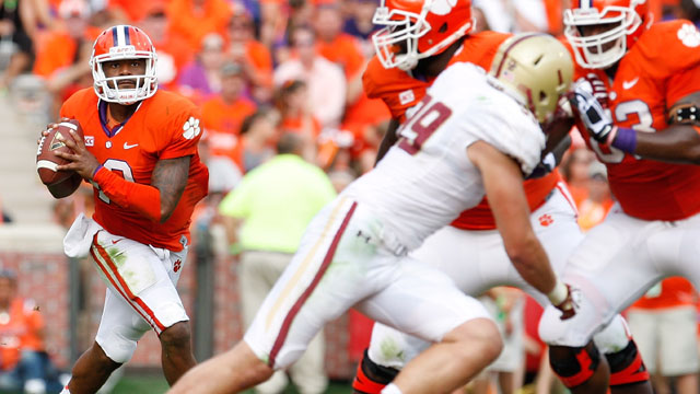 Boston College vs. #3 Clemson