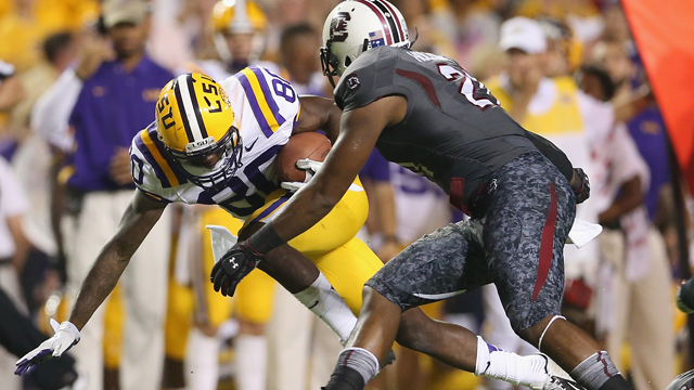 #3 South Carolina vs. #9 LSU