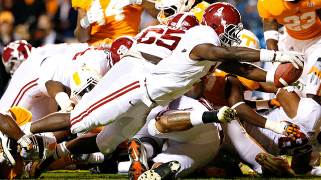 #1 Alabama vs. Tennessee