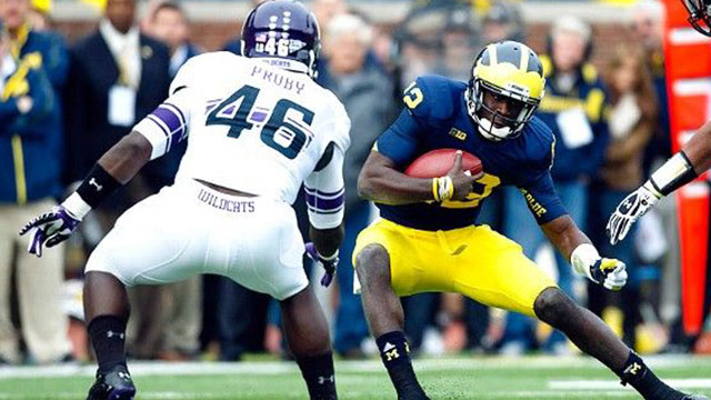 #24 Northwestern vs. Michigan