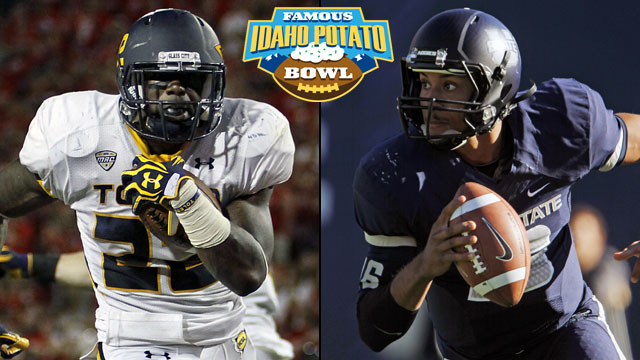Toledo vs. Utah State: 2012 Famous Idaho Potato Bowl