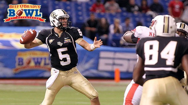 Ball State vs. Central Florida: 2012 Beef 'O' Brady's Bowl