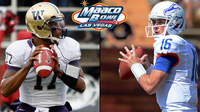Washington vs. Boise State: 2012 MAACO Bowl