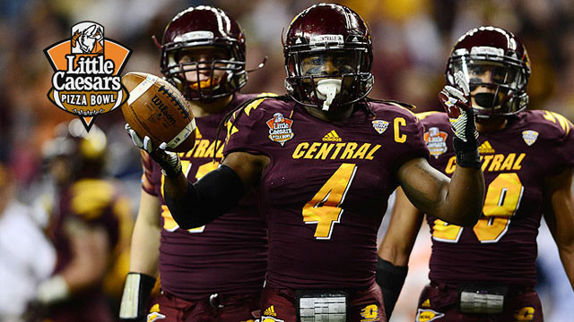 Western Kentucky vs. Central Michigan: 2012 Little Caesars Bowl