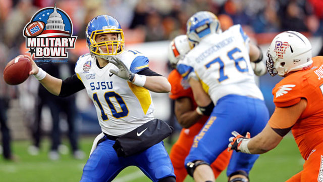 #24 San Jose State vs. Bowling Green: 2012 Military Bowl