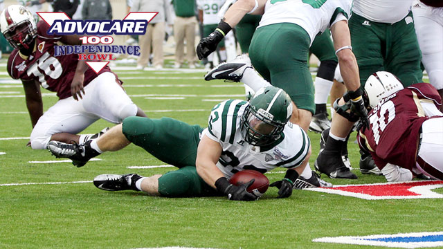 Ohio vs. Louisiana-Monroe: 2012 Advocare V100 Independence Bowl