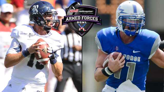 Rice vs. Air Force: 2012 Bell Helicopter Armed Forces Bowl