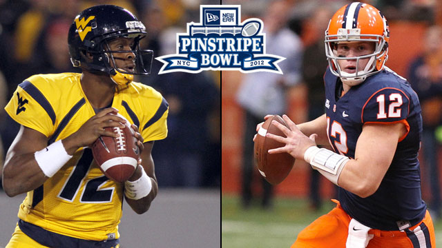West Virginia vs. Syracuse: 2012 New Era Pinstripe Bowl