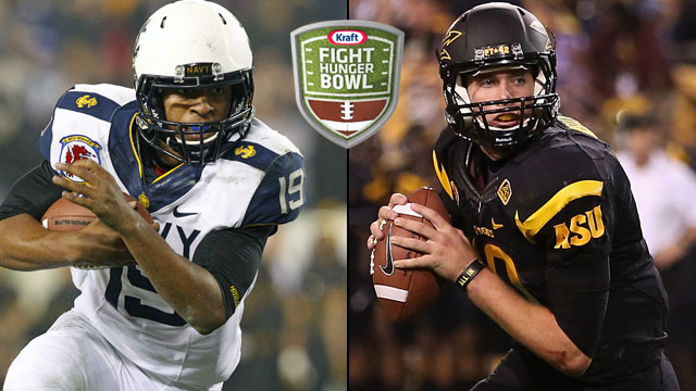 Navy vs. Arizona State: 2012 Kraft Fight Hunger Bowl