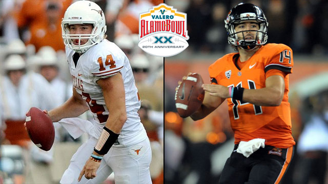 #23 Texas vs. #13 Oregon State: 2012 Valero Alamo Bowl
