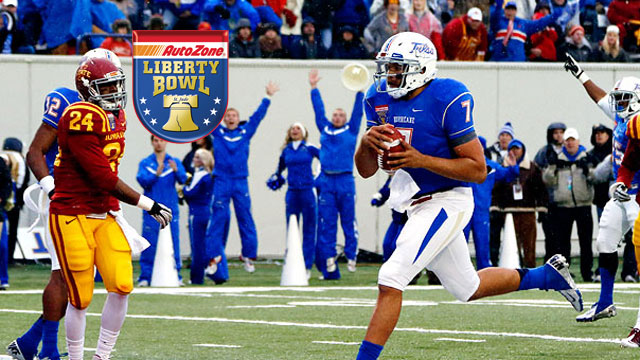 Iowa State vs. Tulsa: 2012 Autozone Liberty Bowl