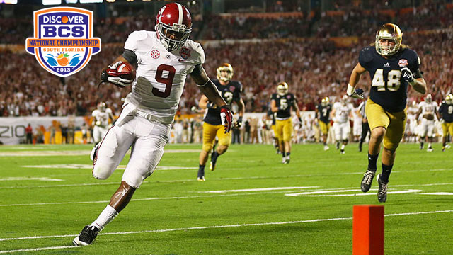 #1 Notre Dame vs. #2 Alabama: 2013 Discover BCS National Championship