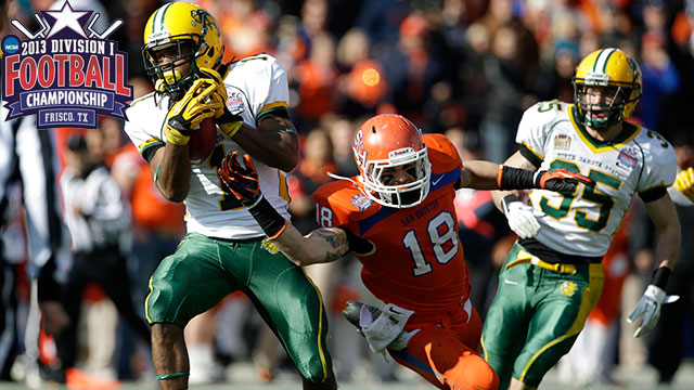 #1 North Dakota State vs. Sam Houston State (Final): NCAA FCS Football Championship