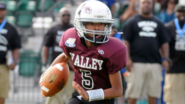 Valley Stallions (NY) vs. Palmetto Broncos (FL) (Div. II Pee Wee Semifinals)