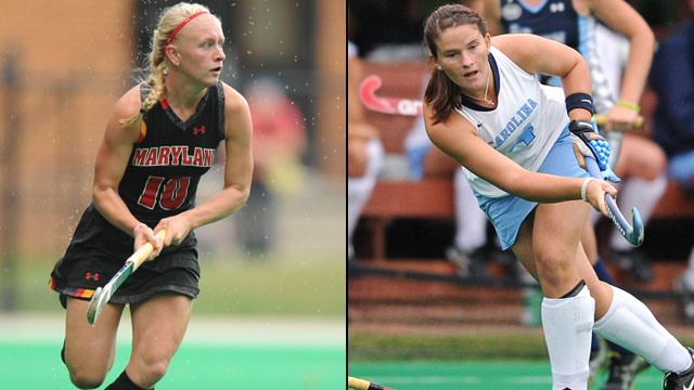 #3 Maryland vs. #1 North Carolina (Championship): ACC Field Hockey Championship