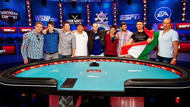 2012 World Series of Poker presented by Jack Link's Beef Jerky (Final Table)