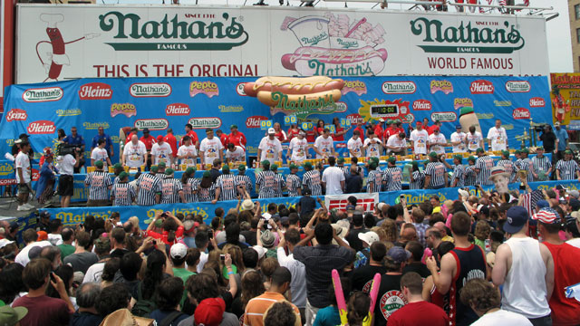 2012 Nathan's Famous Hot Dog Eating Contest