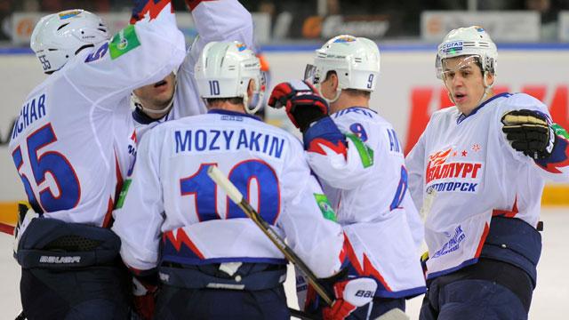 Dynamo Moscow vs. Metallurg MG